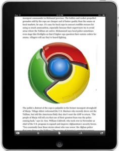 Chrome iPad Ongoing Issue Graphic