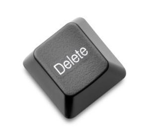 Delete Key ongoing issue graphic