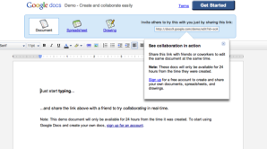 Google Docs Demo Ongoing Issues Demo Pic