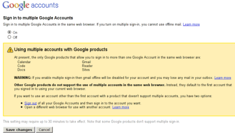 Google Multi Account Sign In - Ongoing Issues Image
