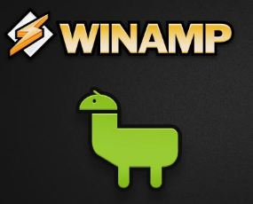 winamp android logo - ongoing issues link