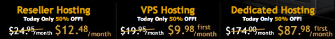 HostGator 50% off deals