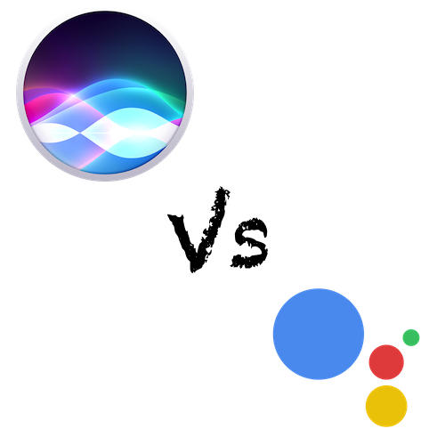 Siri Vs Google Assistant Logos - Ongoing Issues